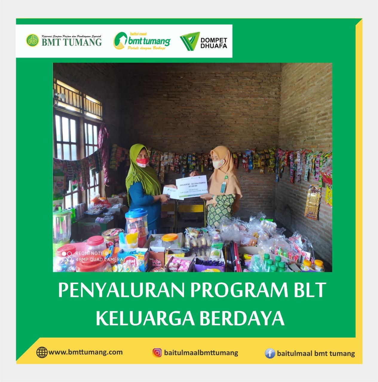 Baitul Maal BMT TUMANG Gulirkan Bantuan Langsung Tunai (BLT)  untuk keluarga Yatim