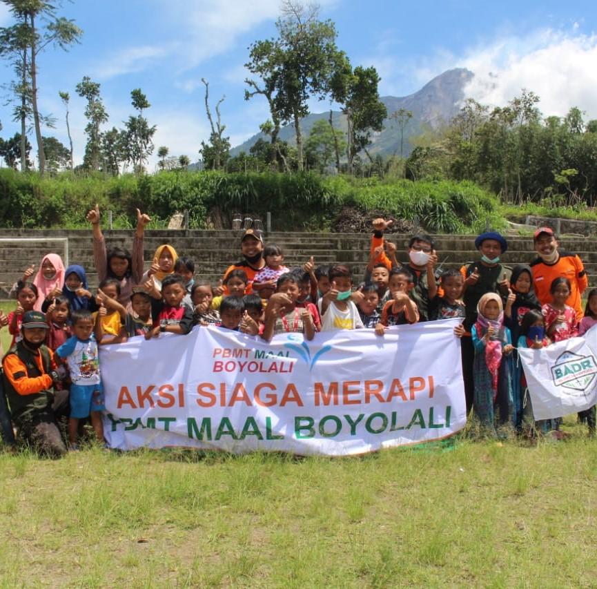 Taman Ceria untuk Anak-anak Pengungsi Merapi
